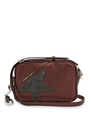 Golden Goose Deluxe Brand Swarovski Crystal Leather Star Bag