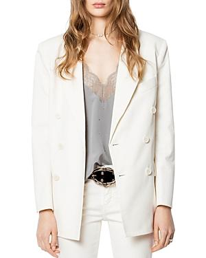 Zadig & Voltaire Vina Double-breasted Blazer