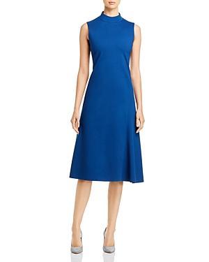 Boss Devika Mock-neck Midi Dress