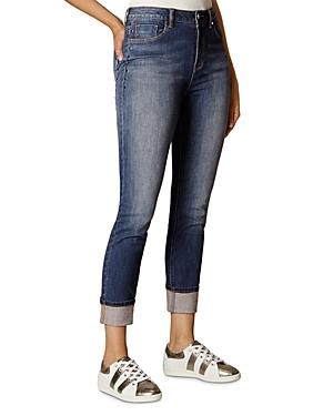 Karen Millen Faded Skinny Jeans