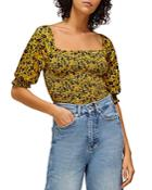 Whistles Trailing Daisy Ruched Top