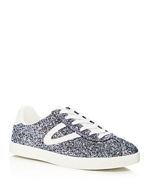 Tretorn Women's Camden 5 Glitter Lace Up Sneakers