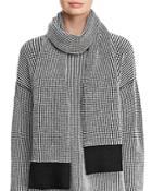 Eileen Fisher Textured Sweater-knit Scarf
