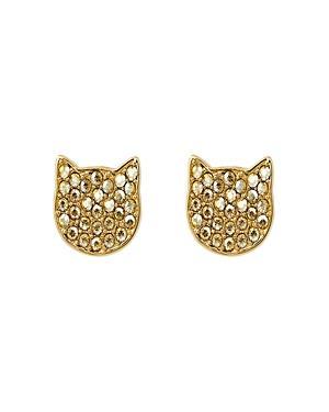 Karl Lagerfeld Paris Silhouette Choupette Earrings