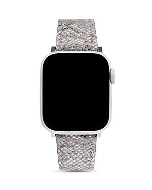 Rebecca Minkoff Python-embossed Leather Apple Watch Strap, 38mm & 40mm