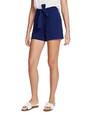 1.state Tie-waist Textured Crepe Shorts