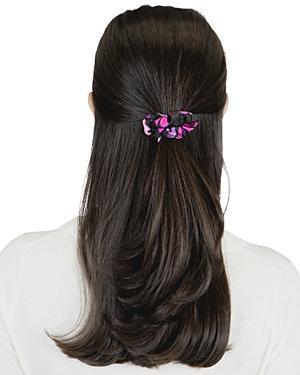 Kate Spade New York Spade Clover Patchwork Silk Hair Tie & Bandana