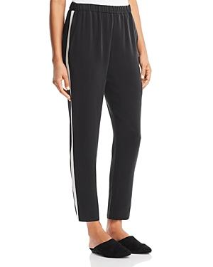 Eileen Fisher Petites Slouchy Silk Track Pants
