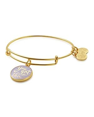 Alex And Ani You Got This Expandable Wire Bangle
