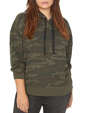 Sanctuary Plus Venice Camo-print Hooded Sweatshirt