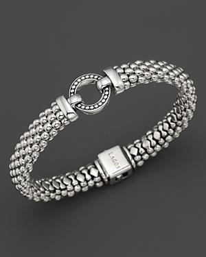Lagos Sterling Silver Beaded Bracelet