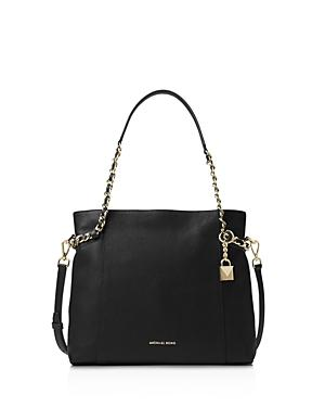 Michael Michael Kors Remy Medium Leather Shoulder Tote