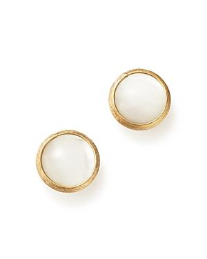 Marco Bicego 18k Yellow Gold Jaipur Mother-of-pearl Stud Earrings
