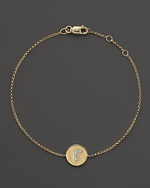 Kc Designs Diamond Pave Initial Bracelet
