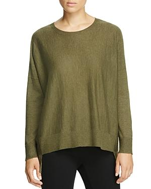 Eileen Fisher Petites High/low Box Top