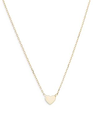 Adina Reyter 14k Yellow Gold Puffy Heart Pendant Necklace, 16