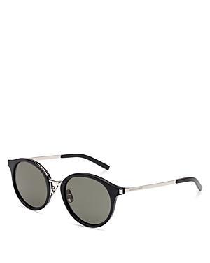 Yves Saint Laurent Retro Round Sunglasses