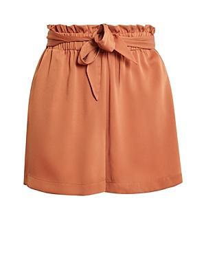 Bcbgeneration Paper Bag Waist Shorts