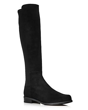 Stuart Weitzman Women's Half N' Half Low Heel Boots