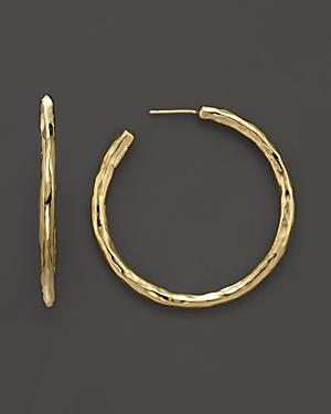 Ippolita 18k Yellow Gold Glamazon #3 Hoop Earrings