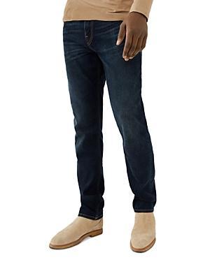 True Religion Geno Slim Fit Jeans In Dalston Bay Dark