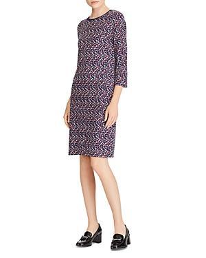 Lauren Ralph Lauren Geometric Print Dress