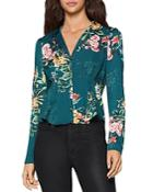 Bcbgeneration Floral Pintuck Blouse