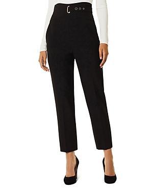 Karen Millen Belt-detail Tailored Trousers