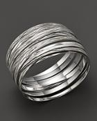Roberto Coin Sterling Silver Large Bangle