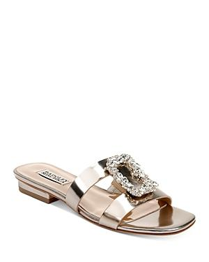 Badgley Mischka Women's Josette Embellished Slip On Sandals
