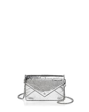 Tory Burch Envelope Crackle Patent Leather Crossbody
