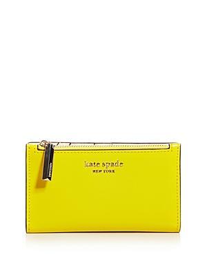 Kate Spade New York Spencer Slim Leather Bifold Wallet