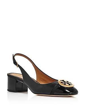 Tory Burch Women's Minnie Cap-toe Slingback Pumps