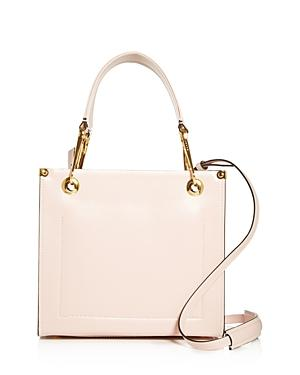 Marni Squared Snap Link Grip Small Leather Tote