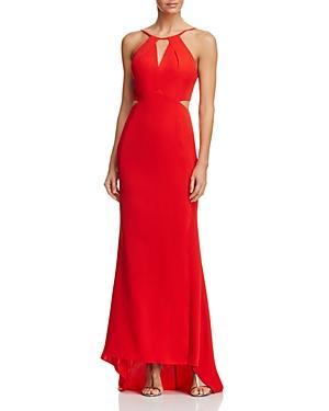 Aqua Cutout Gown