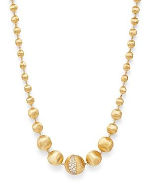 Marco Bicego 18k Yellow Gold Africa Constellation Diamond Boules Necklace, 18