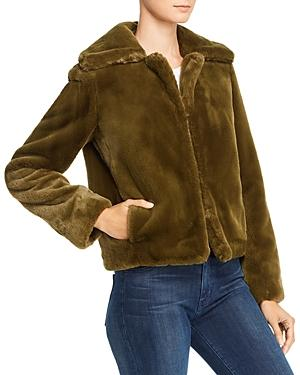 Theory Luxe Faux-fur Jacket - 100% Exclusive
