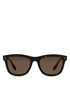 Burberry Men's Rectangle Sunglasses, 55mm