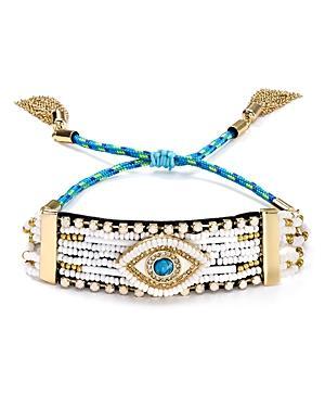 Rebecca Minkoff Evil Eye Adjustable Bracelet