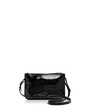 Longchamp Shop It Patent Leather Crossbody