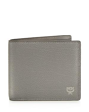 Mcm Otto Grained Leather Wallet