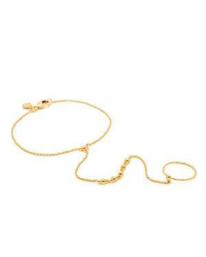 Gorjana Bali Ring To Bracelet Hand Chain