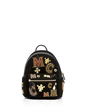 Mcm Small Stark Crown Jewel Backpack