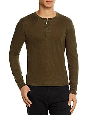 7 For All Mankind Linen Henley