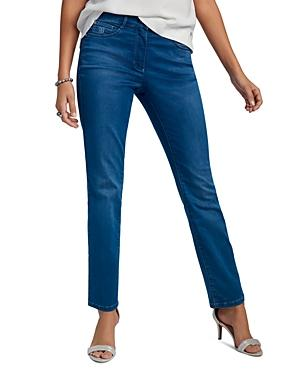 Basler Norma Flare Jeans In Dark Blue