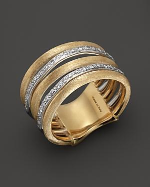 Marco Bicego Diamond Jaipur Link 5-strand Band Ring