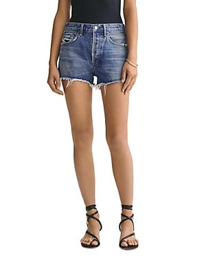 Agolde Parker Cutoff Denim Shorts