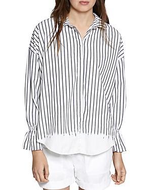 Sanctuary Hazel Relaxed Striped Shirt
