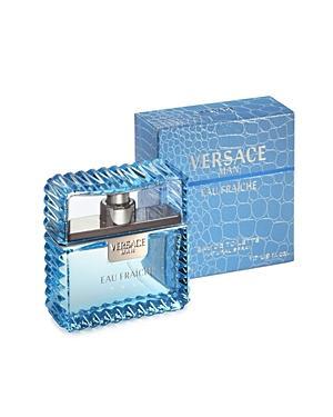 Versace Eau Fraiche Eau De Toilette Spray 3.4 Oz.