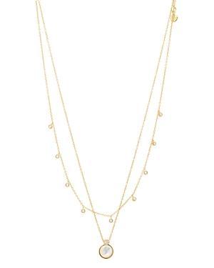 Gorjana Eloise Gem Layered Necklace, 17-17.5